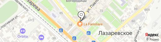 Магазин сувениров на карте Сочи