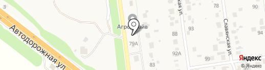 Минимаркет на карте Отрадного