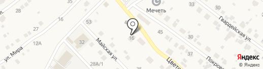 АвтоВира136 на карте Отрадного