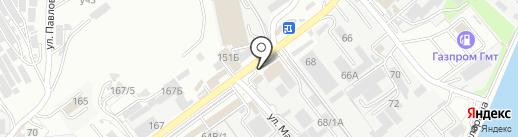 Элит-декор на карте Сочи
