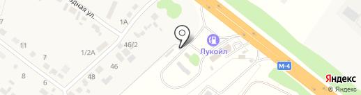 Автостоянка на карте Нечаевки