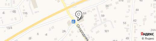 Магнит на карте Бабяково