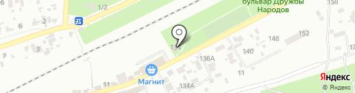 Багира на карте Воронежа