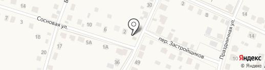 Продуктовый магазин на Московской (Косыревка) на карте Косыревки