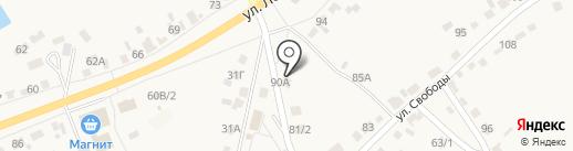 Лик на карте Новой Усмани