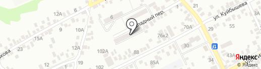 Рыбник на карте Азова