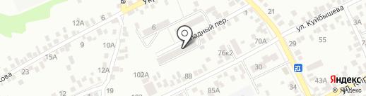 Рыбник, ТСЖ на карте Азова