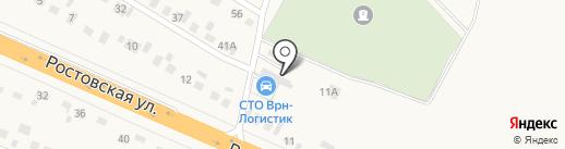 Автотехцентр на карте Новой Усмани