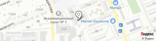 Авоська на карте Азова