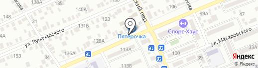 Объединенные Частные Пивоварни на карте Азова