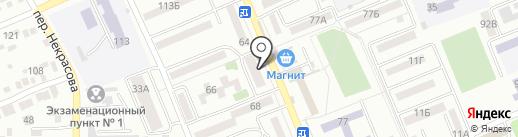 Панчо на карте Азова