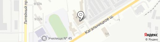 МиРекламы на карте Азова
