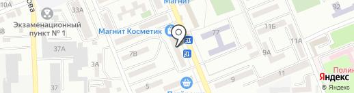 Веста на карте Азова