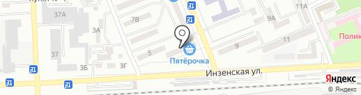 Санги Стиль на карте Азова