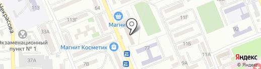 Натали на карте Азова