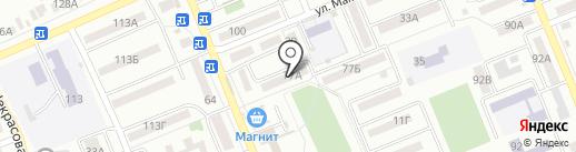 Аполлон на карте Азова