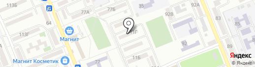 Луч 1 на карте Азова