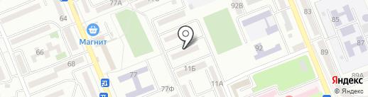 Луч, ТСЖ на карте Азова
