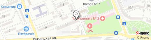 Библиотека им. С.А. Есенина на карте Азова