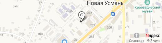 Фотокопицентр на карте Новой Усмани