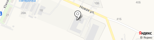 Мерлетто на карте Косыревки
