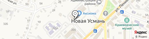 Магазин тортов на карте Новой Усмани