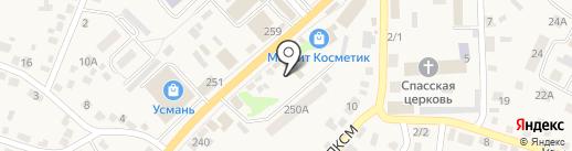 Ателье на карте Новой Усмани