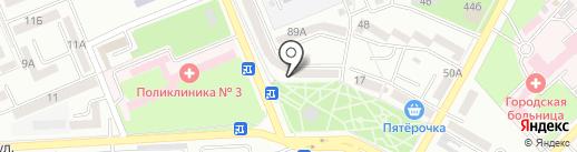 Окна-альянс на карте Азова
