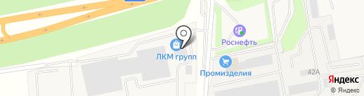 ЛКМ групп на карте Косыревки