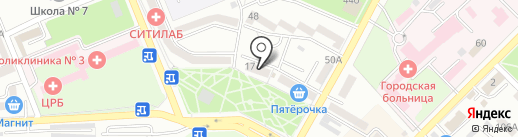 Великолукский мясокомбинат на карте Азова