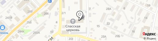 Новоусманская ДЮСШ на карте Новой Усмани