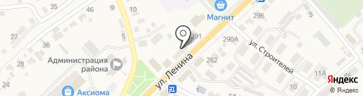 Аленушка на карте Новой Усмани