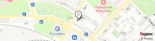 Данилка на карте Азова
