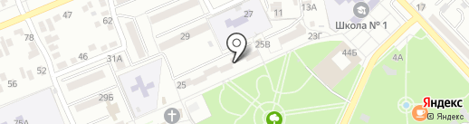 Жасмин на карте Азова