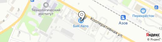Торгово-сервисная компания на карте Азова