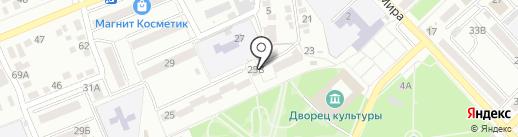 Арсо на карте Азова
