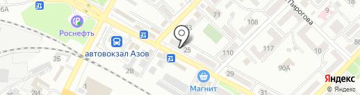 Детская библиотека им. А.П. Гайдара на карте Азова