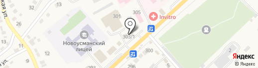 Аптечный пункт на карте Новой Усмани