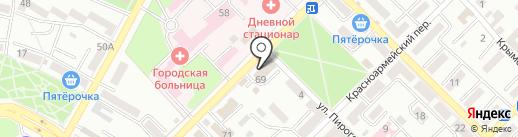 Азовмежрайгаз на карте Азова