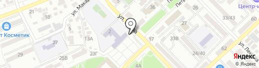Образ на карте Азова