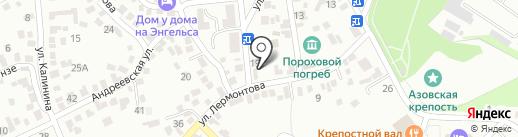 Храм иконы Божией Матери Азовской на карте Азова