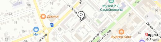 Киоск по ремонту одежды на карте Азова