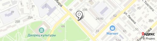 Магнит Косметик на карте Азова