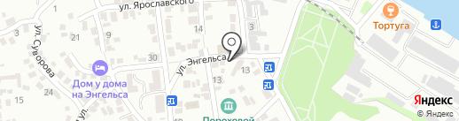 Дента на карте Азова