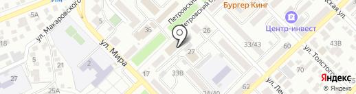 Зенит на карте Азова