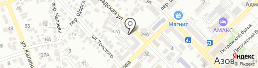 Мастер Шоу на карте Азова