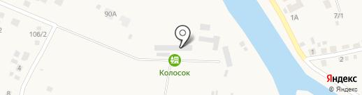 Колосок на карте Новой Усмани