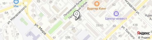 Маскарпоне на карте Азова