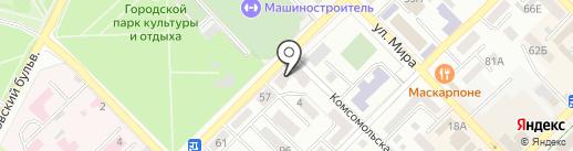 Аргус на карте Азова