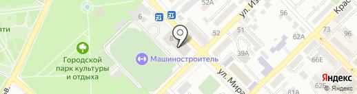 СДЮСШОР №9 на карте Азова